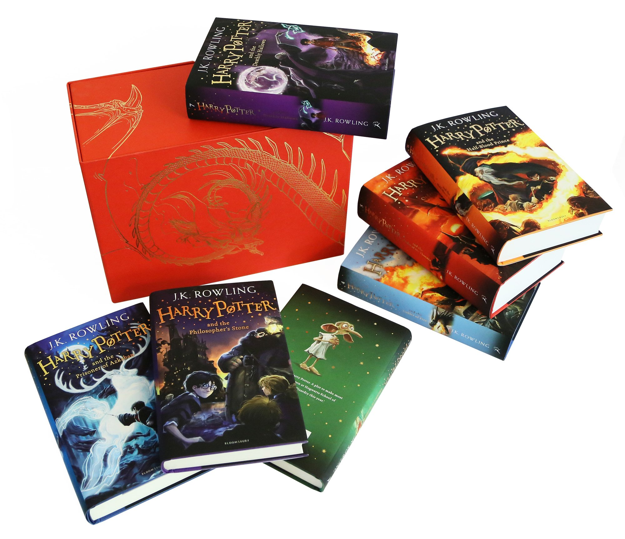 harry potter complete collection books