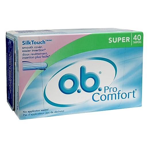 FREE box of O.B. tampons...