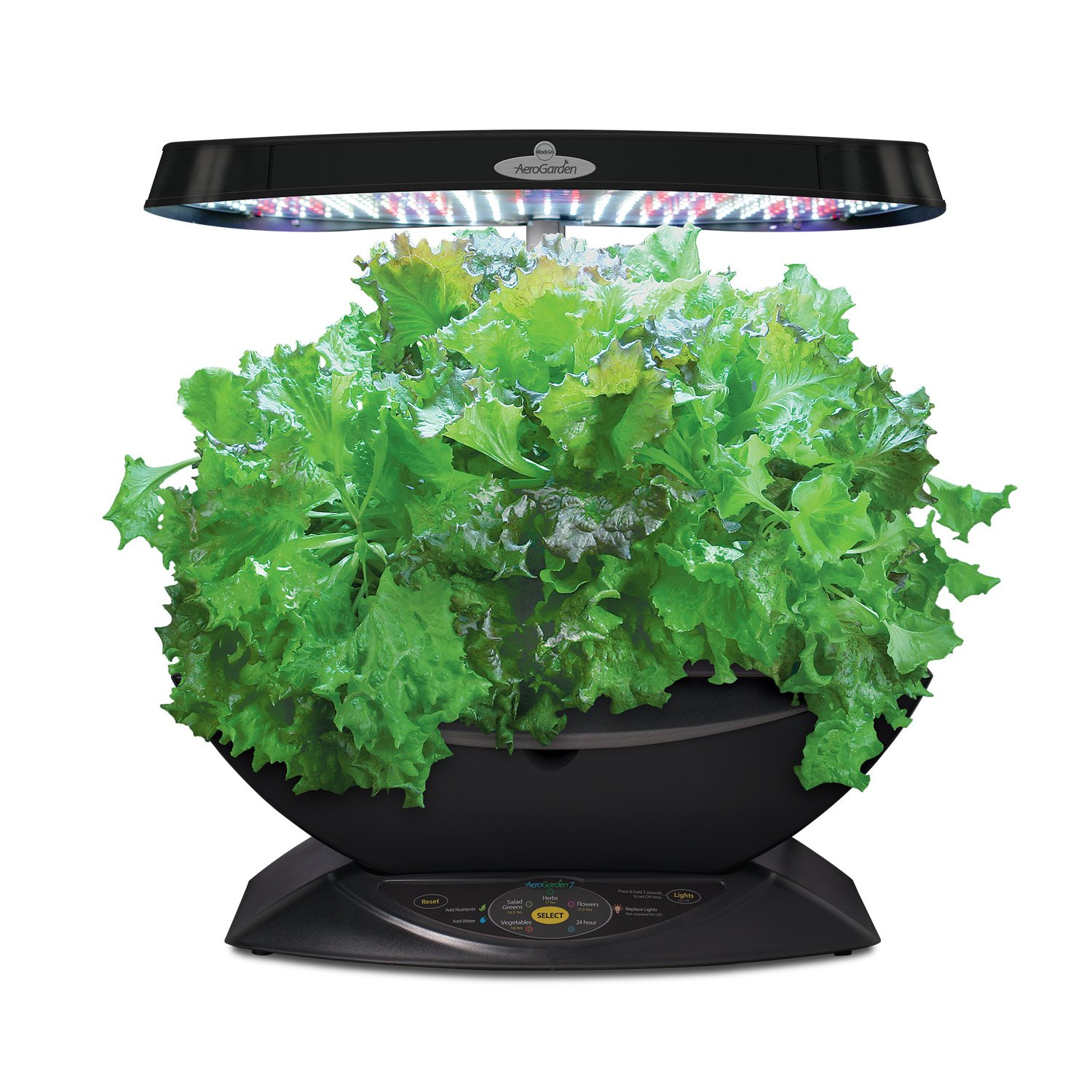 indoor herb garden kit miracle gro aerogarden 7 pod led indoor garden with 28782