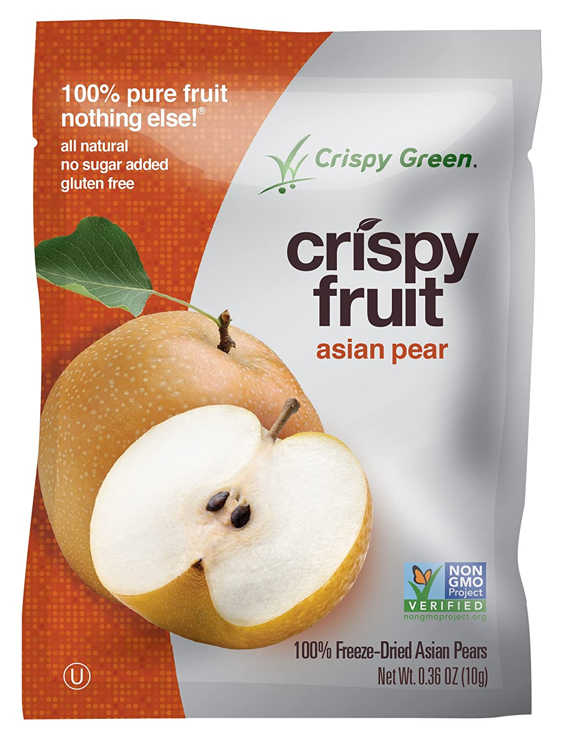 Crispy Green 100% All-Natural Freeze-Dried Fruits, Fruit Variety Pack