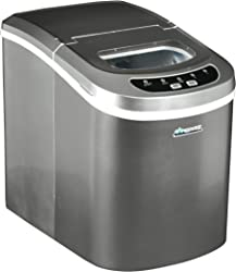 Portable Ice Maker AB-ICE26S, Color Silver, By Avalon Bay