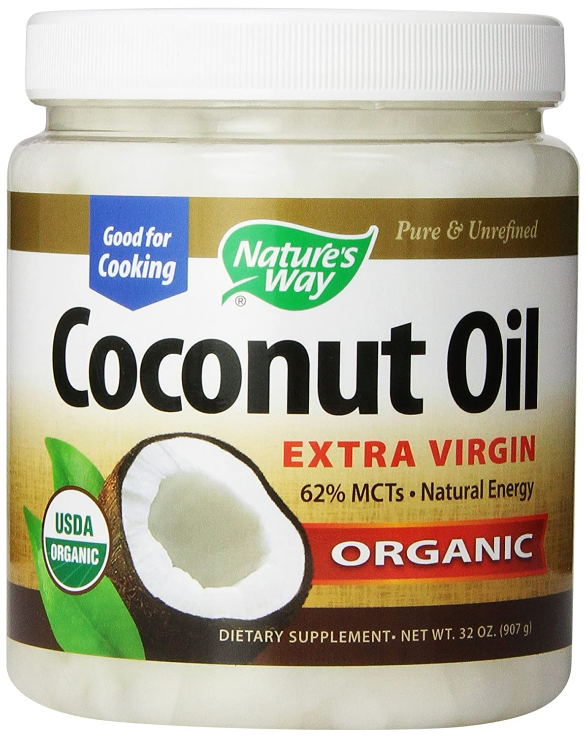 Nature's Way Coconut Oil 32o...