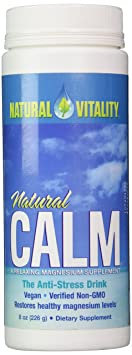 Natural Vitality Natural Magnesium Calm Original, 8 Ounce