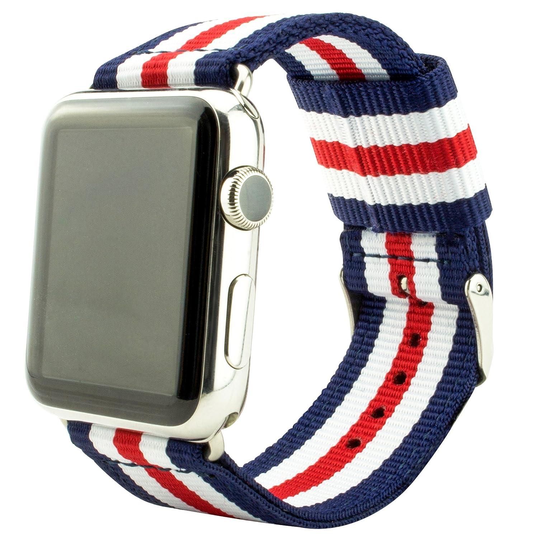 Grooveclip Stripe Stoffarmband für Apple Watch – Apple Watch Armband Test Januar 2016