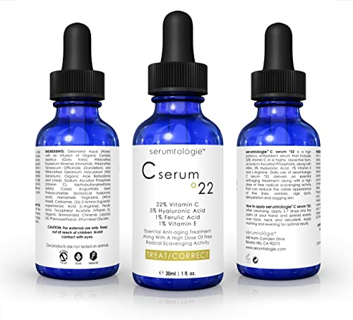 Vitamin C serum 22 by serumtologie-Anti Aging Moisturizer-Review