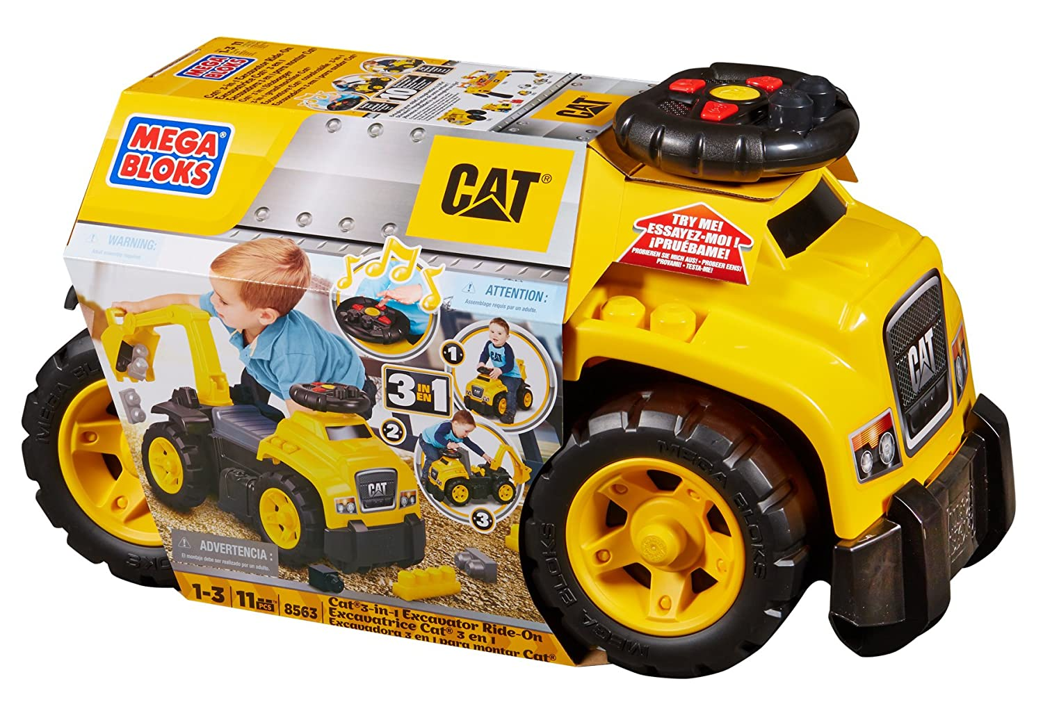 Ride-on toy for 1-year-old