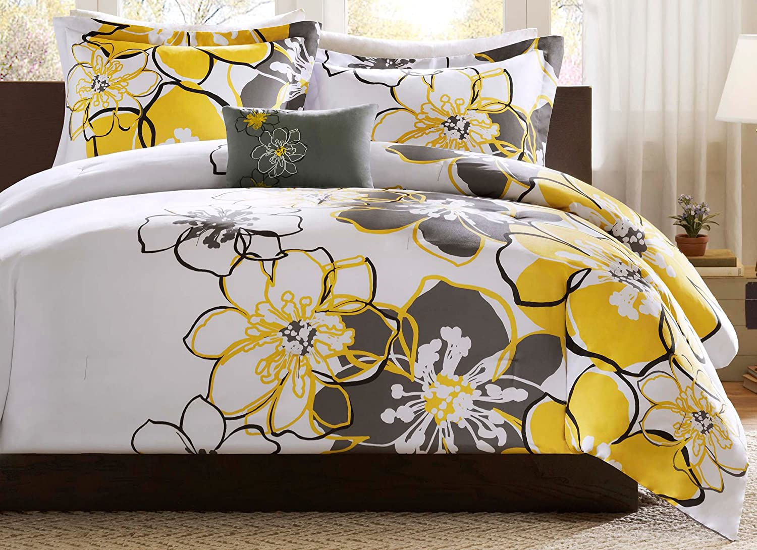 yellow and grey bedroom yellow and grey bedding 17896