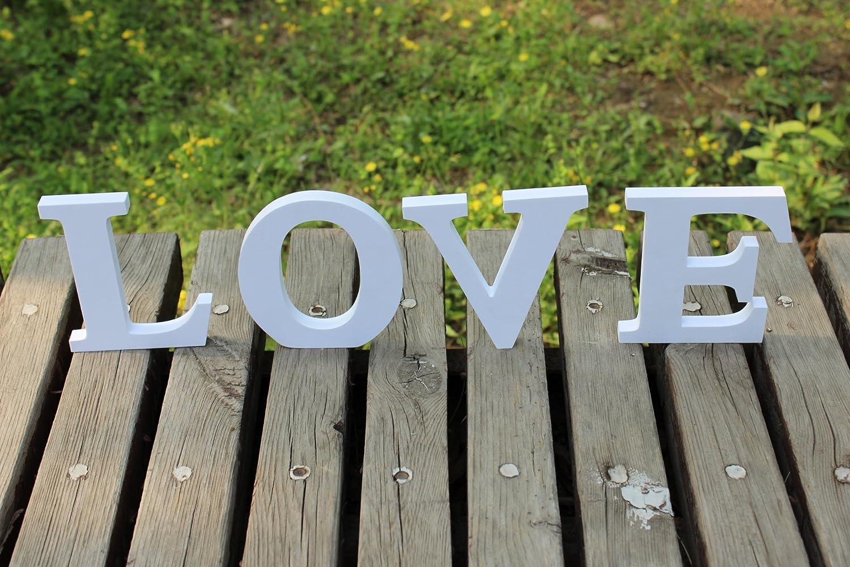 Wooden PVC Love Words/letters