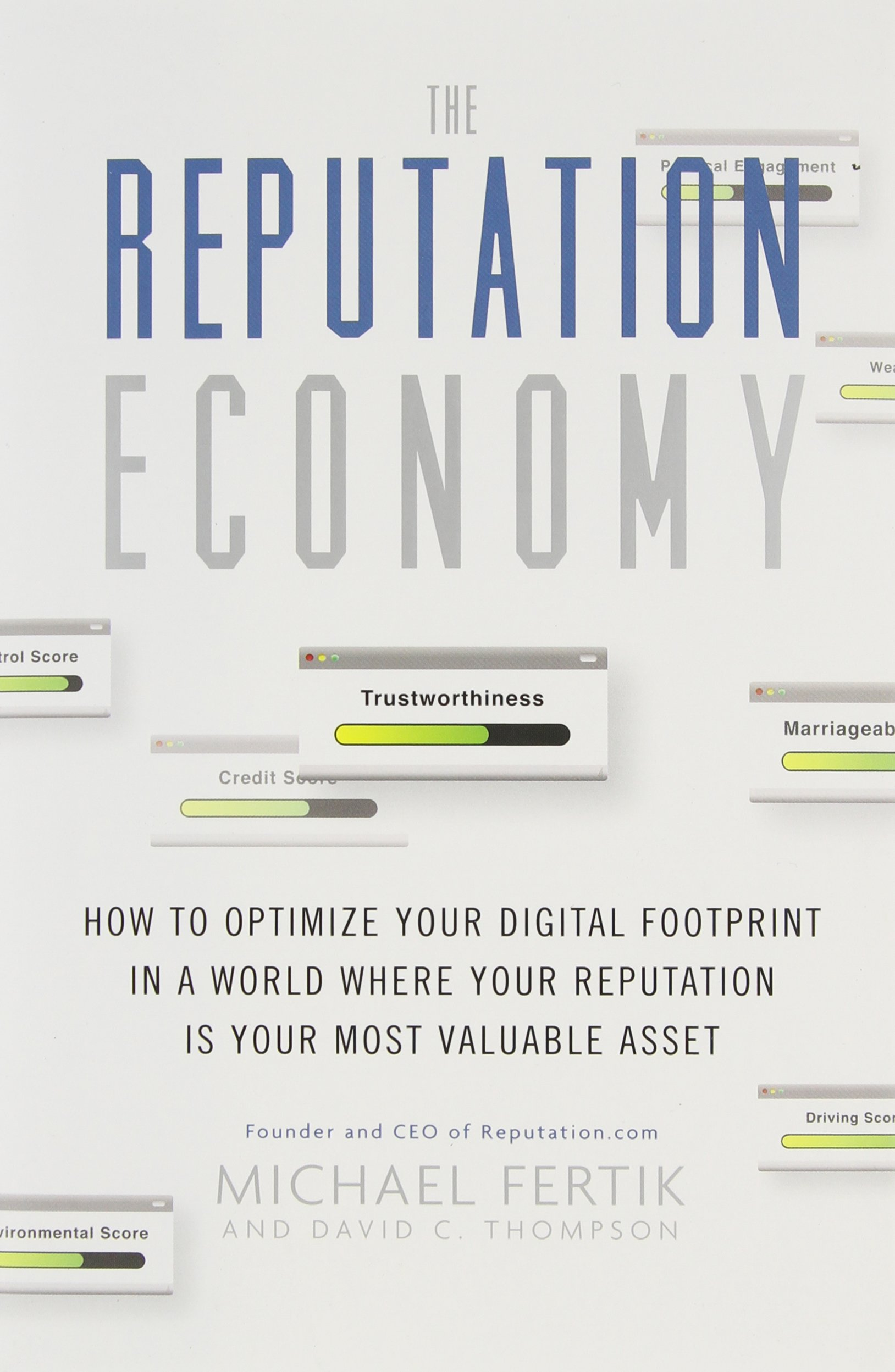 The Reputation Economy is available on Amazon in Kindle, Hardcover, Audible and MP3 CD editions.