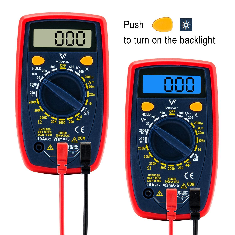 Use A Voltmeter : Digital multimeter multi tester voltmeter ammeter ohmmeter