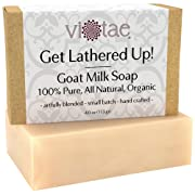 Certified Organic GOAT MILK Soap - by Vi-Tae® - 100% Pure All Natural Aromatherapy Luxury Herbal...