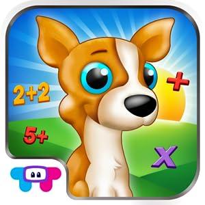 Math Puppy - Bingo Challenge Educational Game for Kids HD