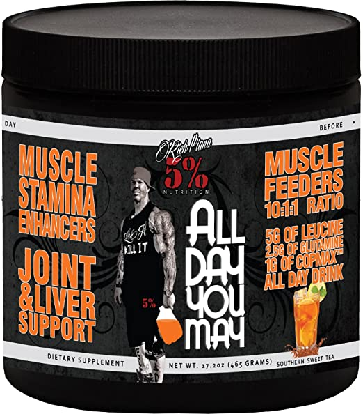 Rich Piana All Day You May BCAA & Joint Recovery Drink