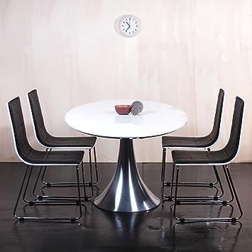4er Set Lounge Cube Regal Design Retro Wandregal Regalwand Standregal Hängeregal Weiß:Küche ...