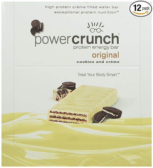 FREE Power Crunch bar...