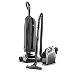 Hoover Platinum Lightweight Upright Vacuum with Canister Bagged UH30010COM