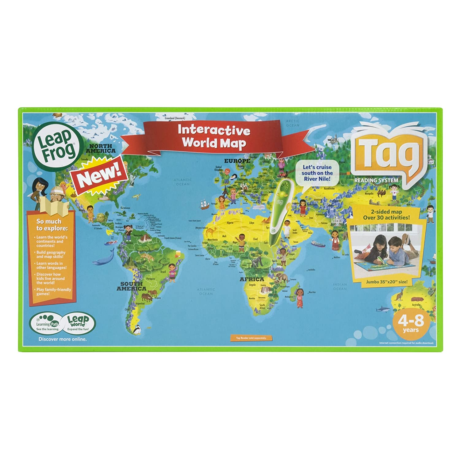 Tag Reader World Map