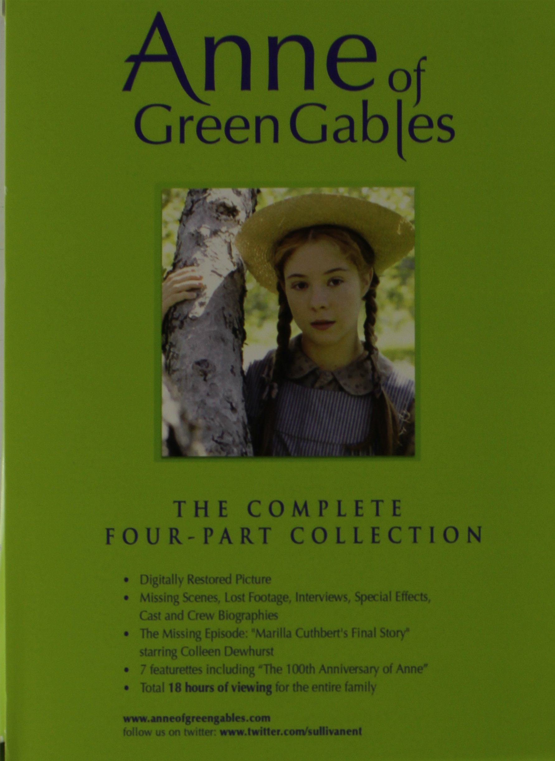Anne Of Green Gables Complete Four Part Coll Complete Box