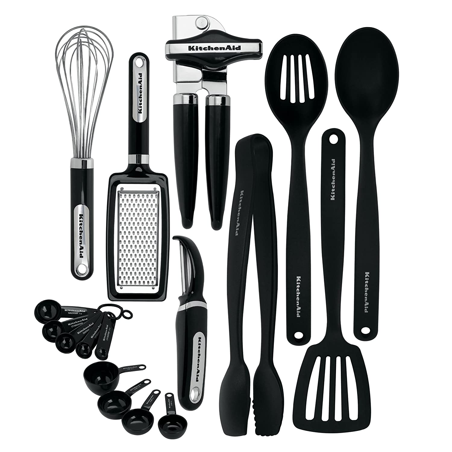 Classic 17 Piece Kitchen Utensil Tools And Gadget Set