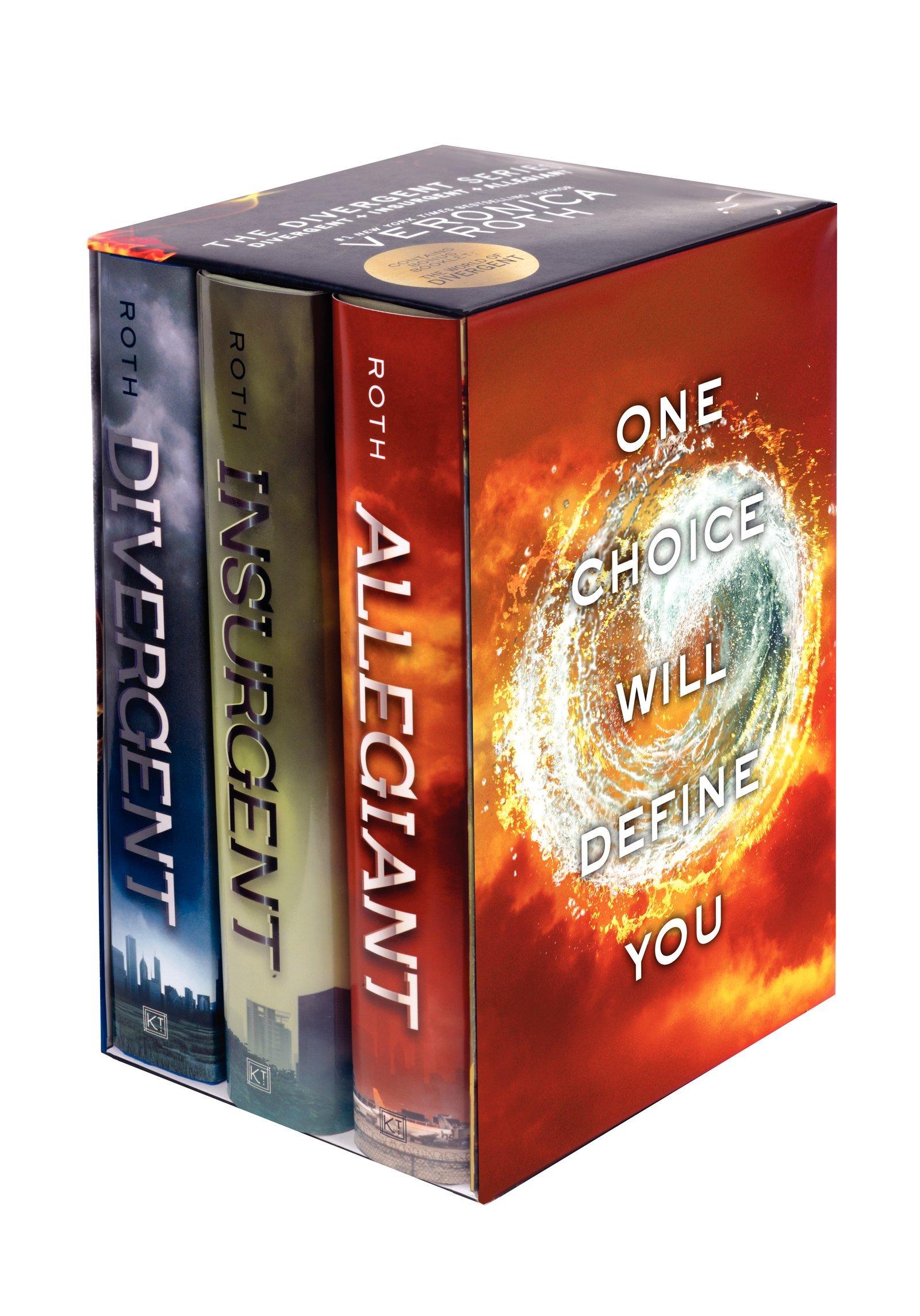 Divergent Book Spine