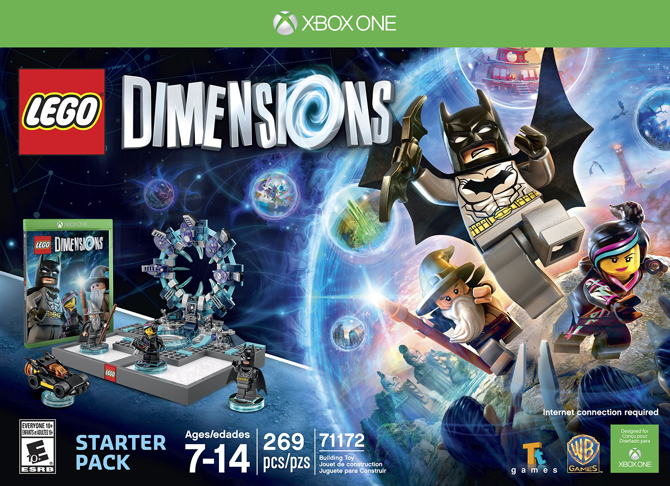 Lego Dimensions Starter Pack Xbox One Xbox One Lego Dimensions