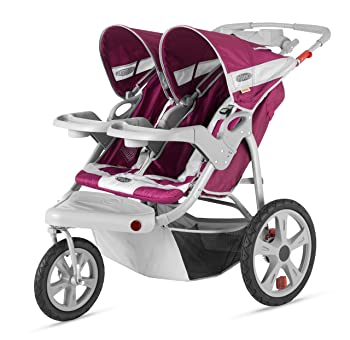 InStep Safari Swivel Double Jogging Stroller Review