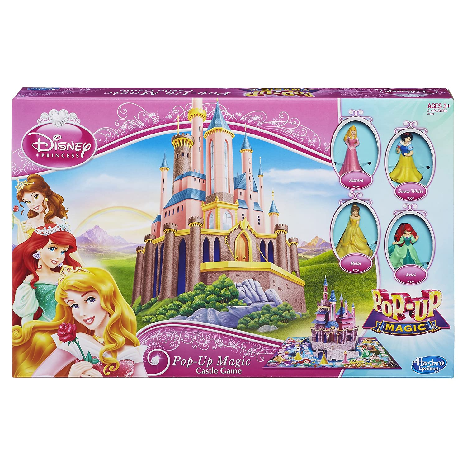 Disney Princess Pop-Up Magic Pop-Up Magic Castle Game