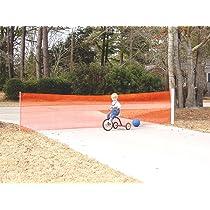 Kidkusion Retractable Driveway Guard
