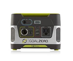 goalzero yeti 150 solar powered generator
