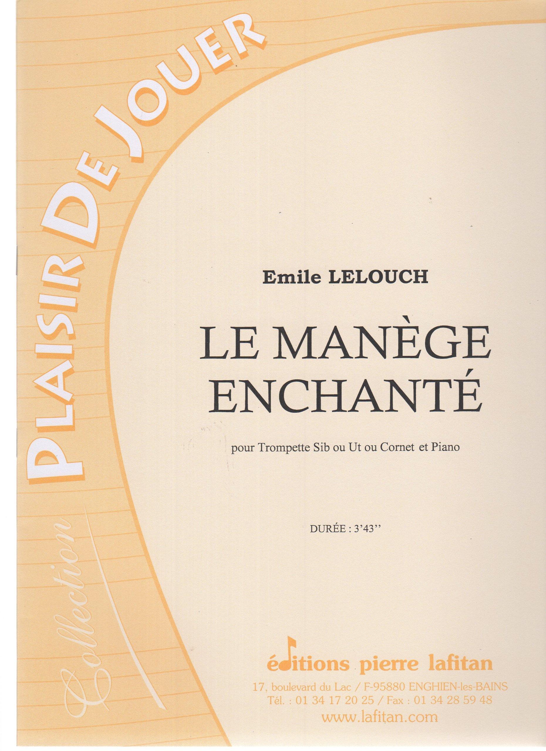 Le-manege-enchante-pour-Trompette-Si-b-ou-ut-ou-Cornet-et-Piano