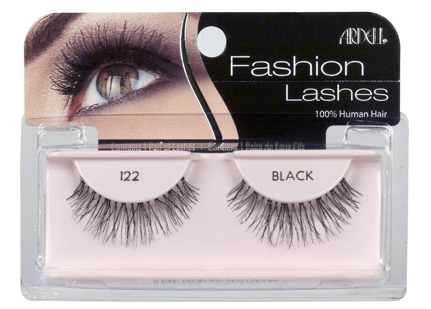 71bf48f7a70 Here I am wearing Ardell 122 lashes, a lighter version of Ardell Wispies