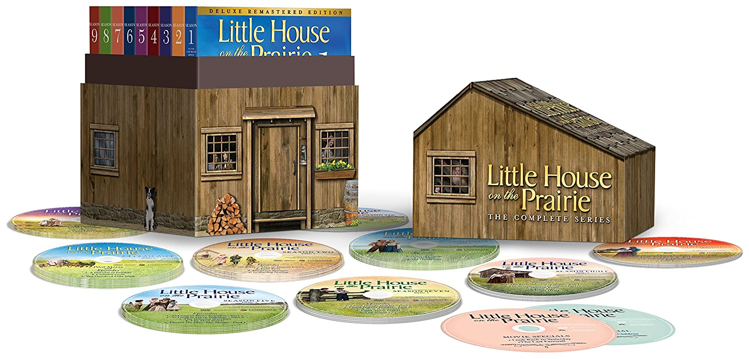 Little House On The Prairie Complete Series Deluxe Remastered Edition DVD  Set