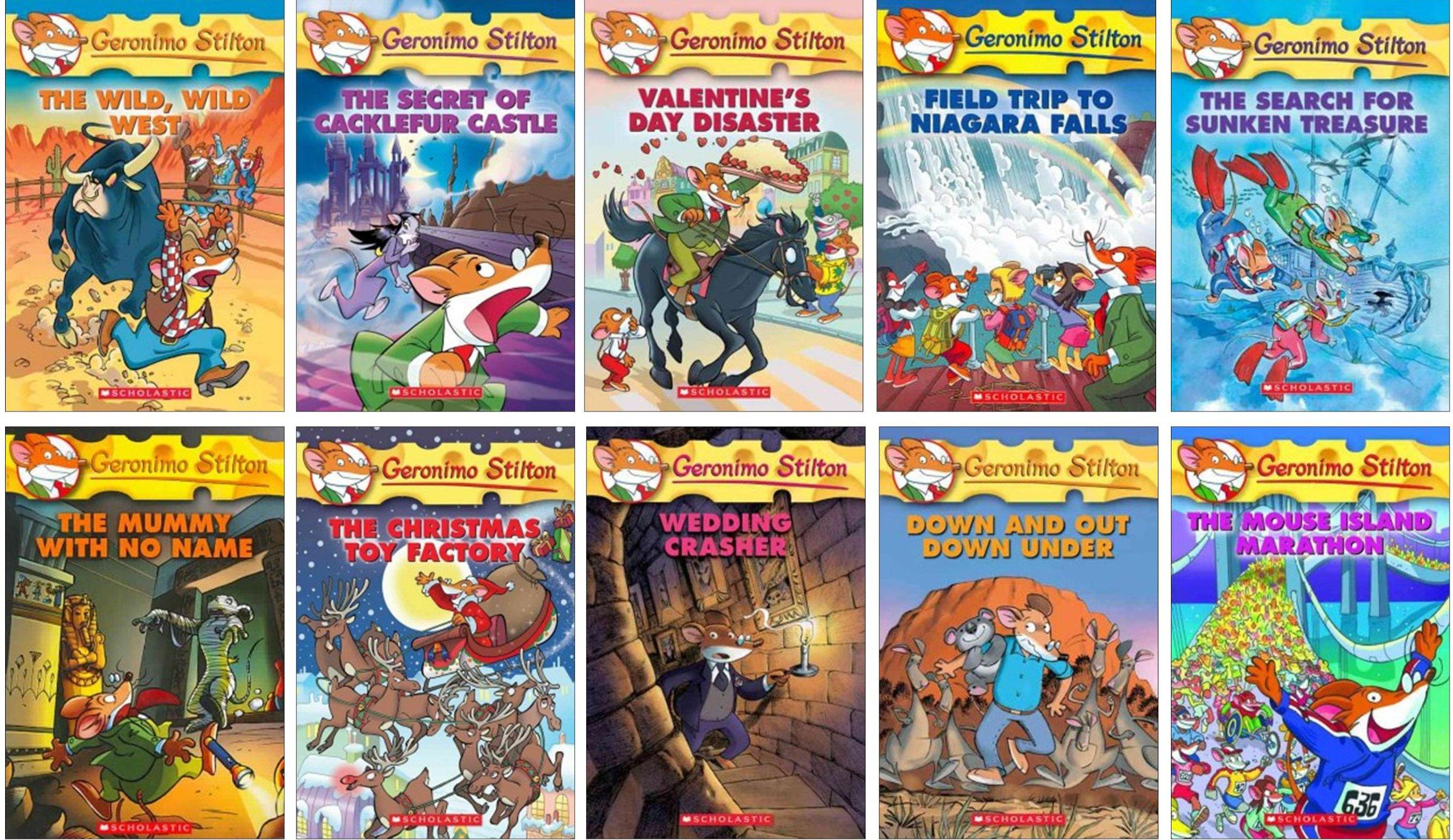 Geronimo Stilton Collection Books 1 50