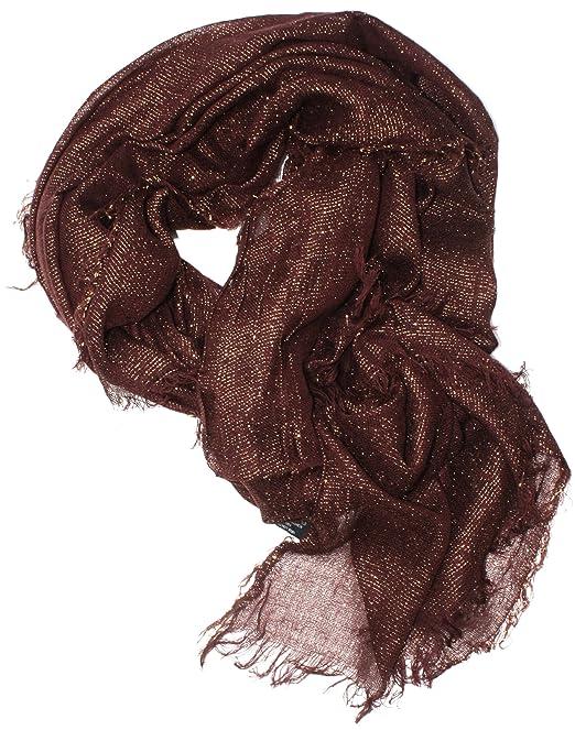 Burgundy sparkly scarf
