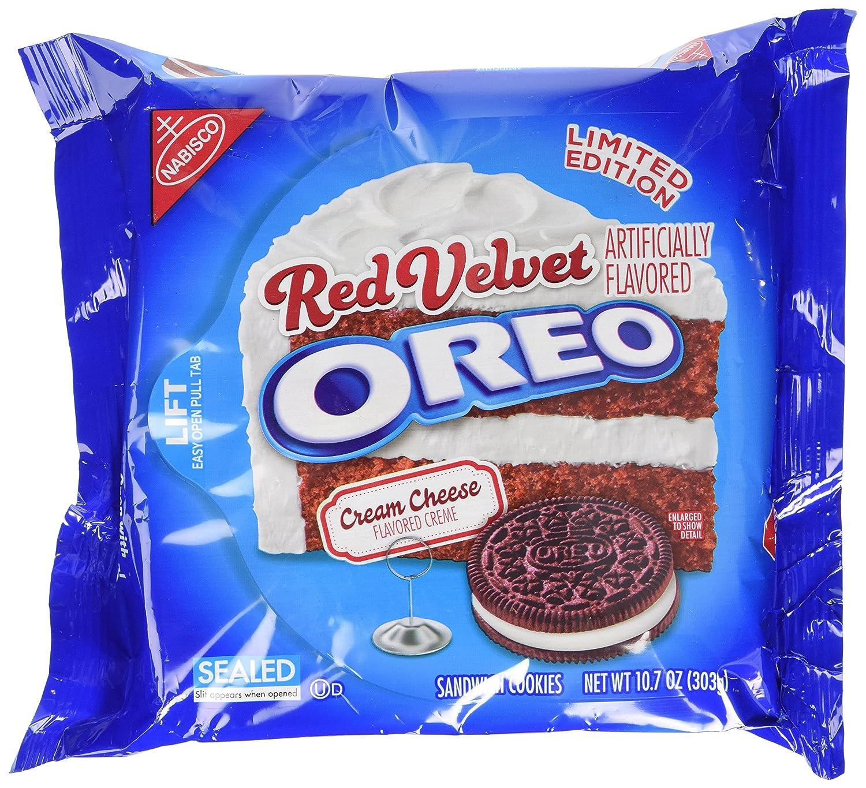 Oreo Red Velvet Cookies