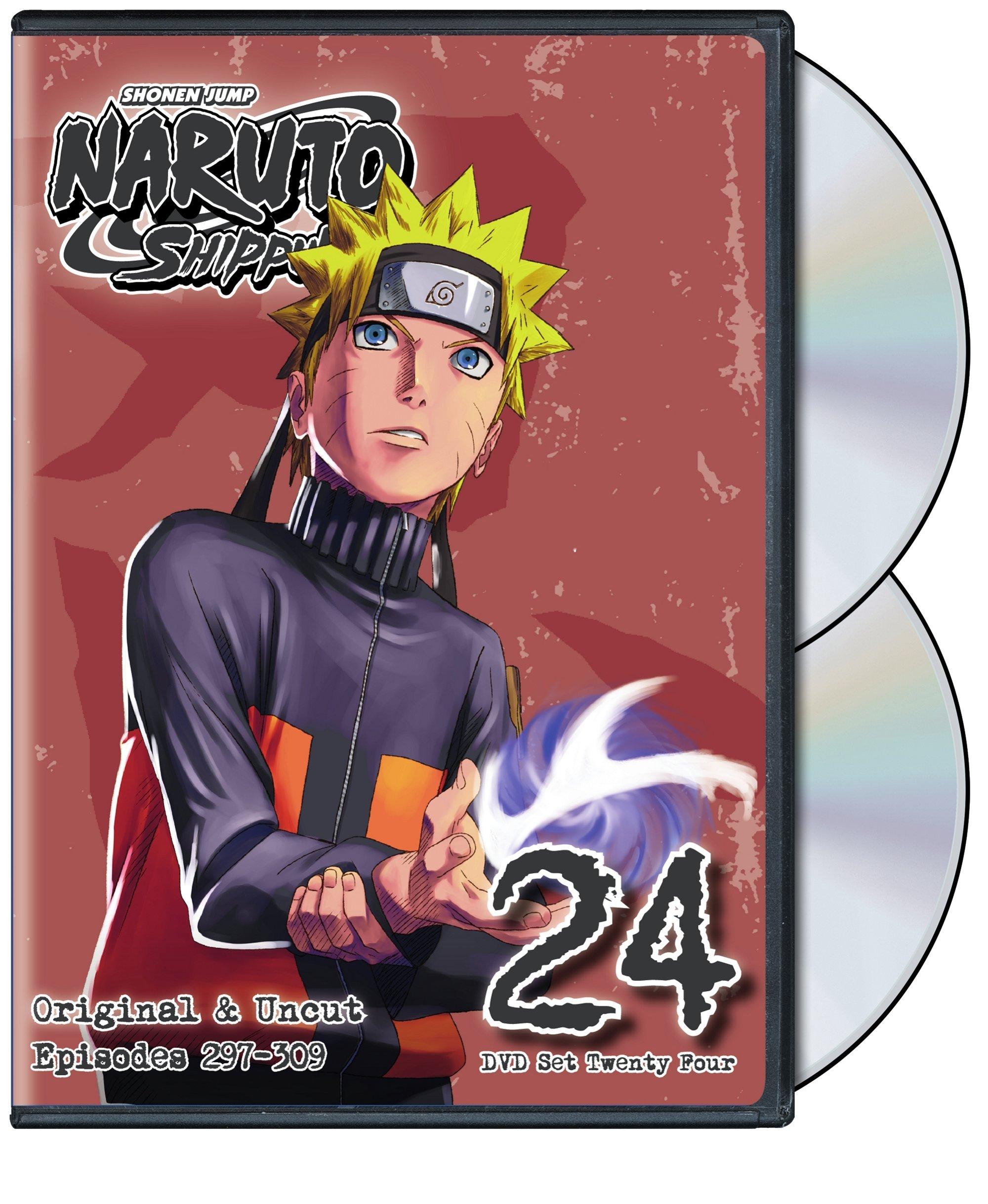 Details about Naruto Shippuden Uncut DVD Set 24 Anime Episodes Shippuden  English Dub Ninja TV