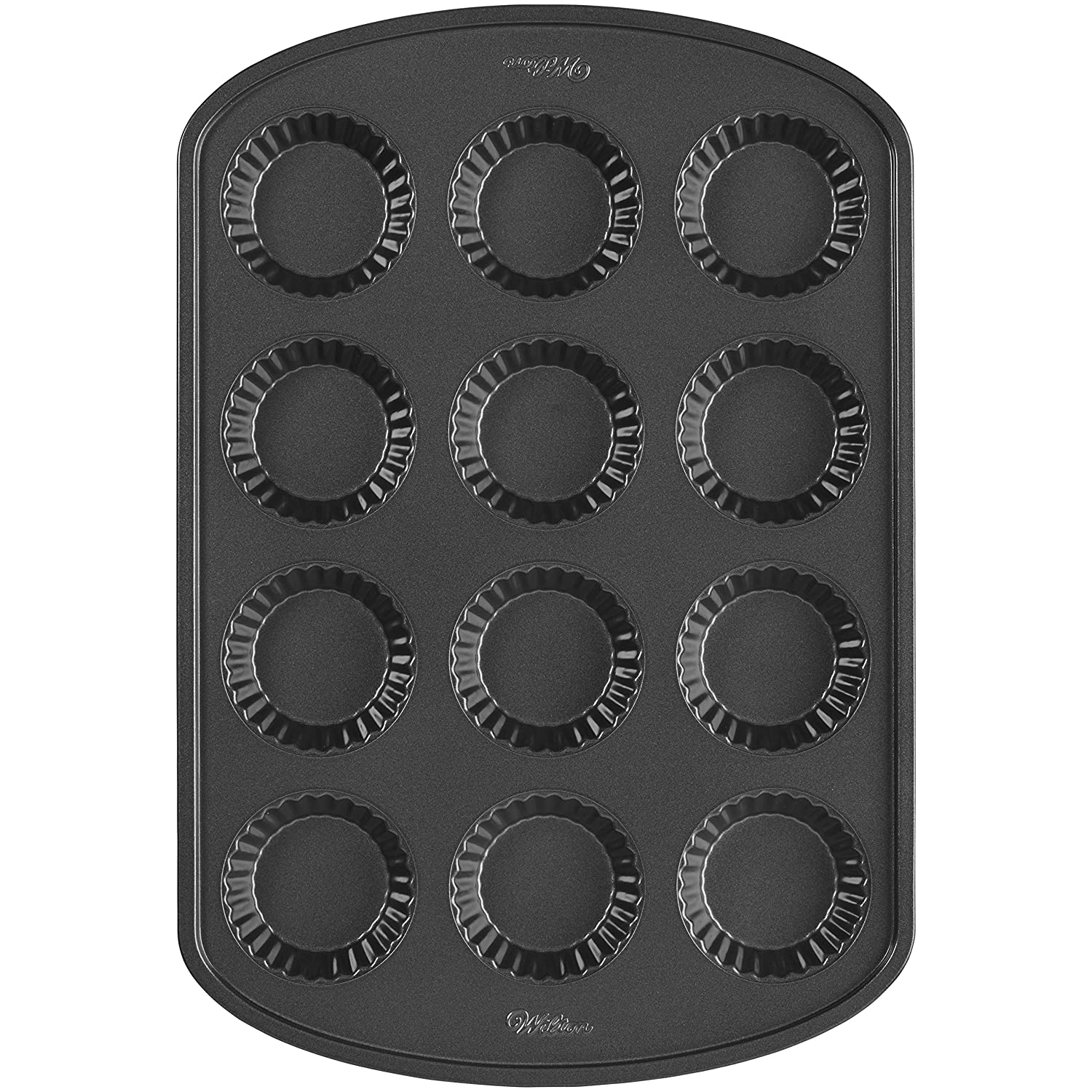 Wilton 12 Cavity Mini Tart Pan Party Canapes Baking Tray
