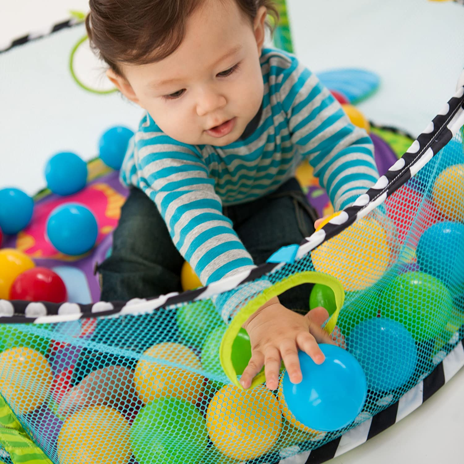 Infantino Baby Activity Center Gym Ball Pit Play Exercise Mat