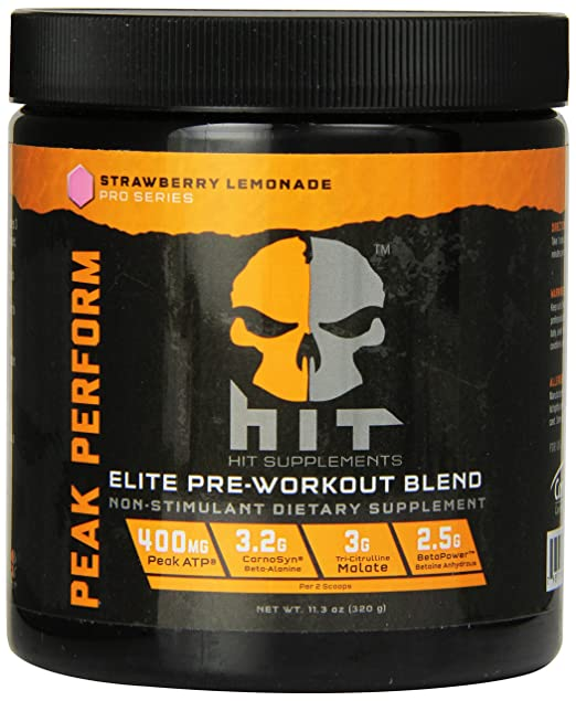 HIT Supplements Peak Perform Pre Workout - Summary
