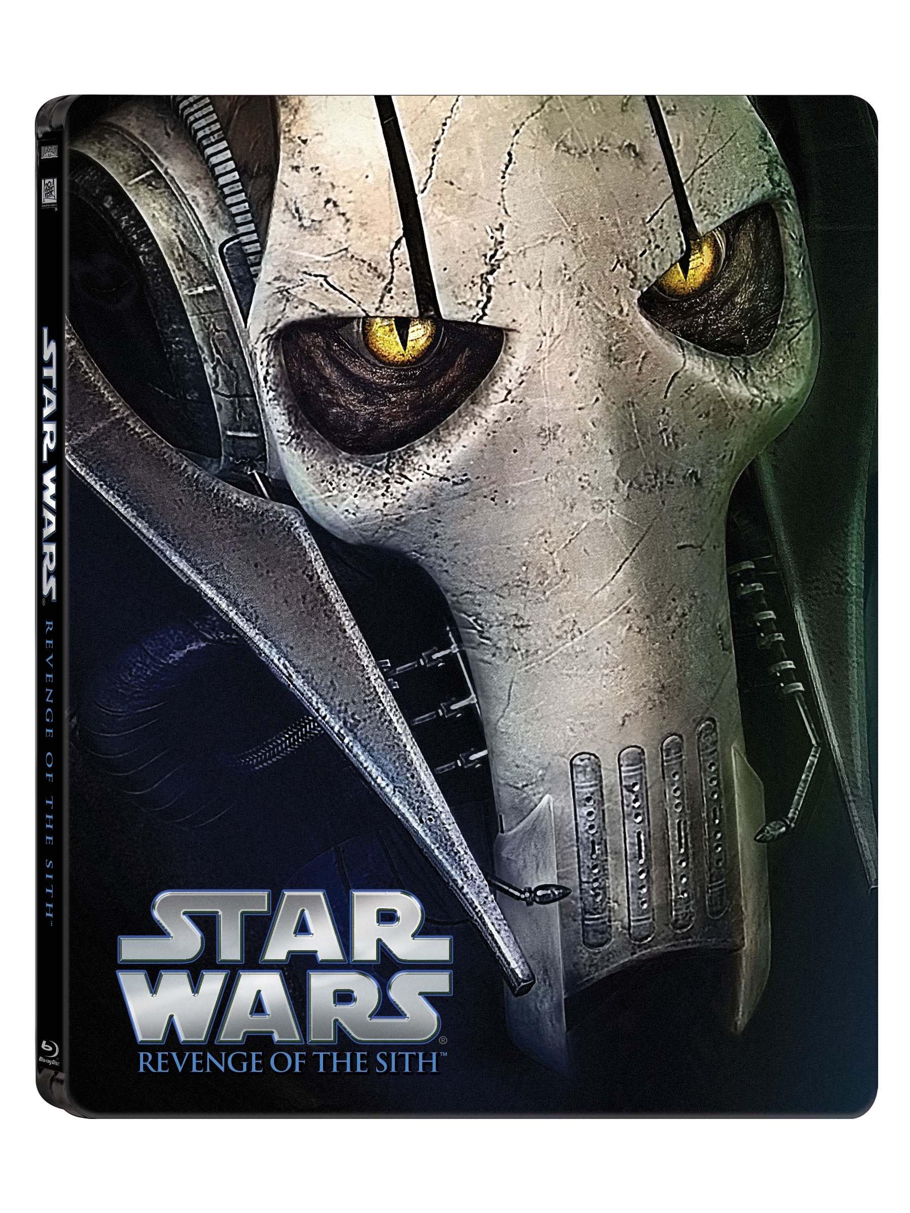 Star Wars Episode Iii Revenge Of The Sith Steelbook Blu Ray Ebay