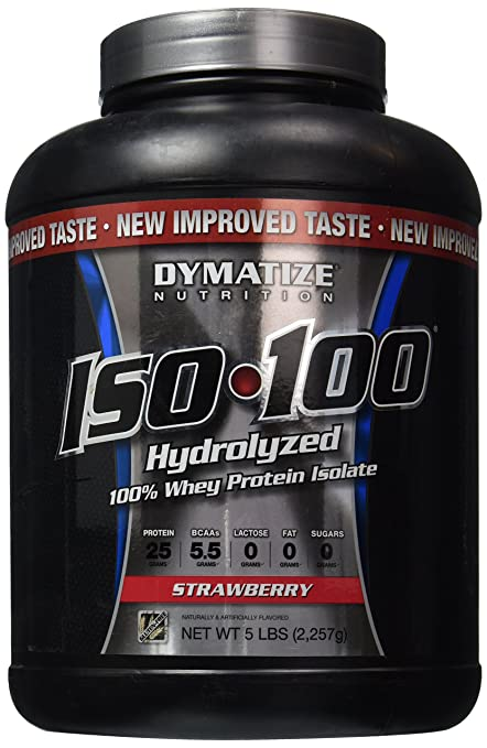 iso-100 whey isolate protein 5lb by dymatize