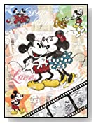 Disney Retro Mickey Mouse 500 Piece Puzzle