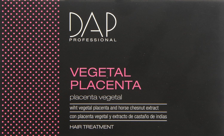 Dap Professional - Vegetal placenta - Tratamiento con placenta vegetal para cabello - 12 doses de 10 ml