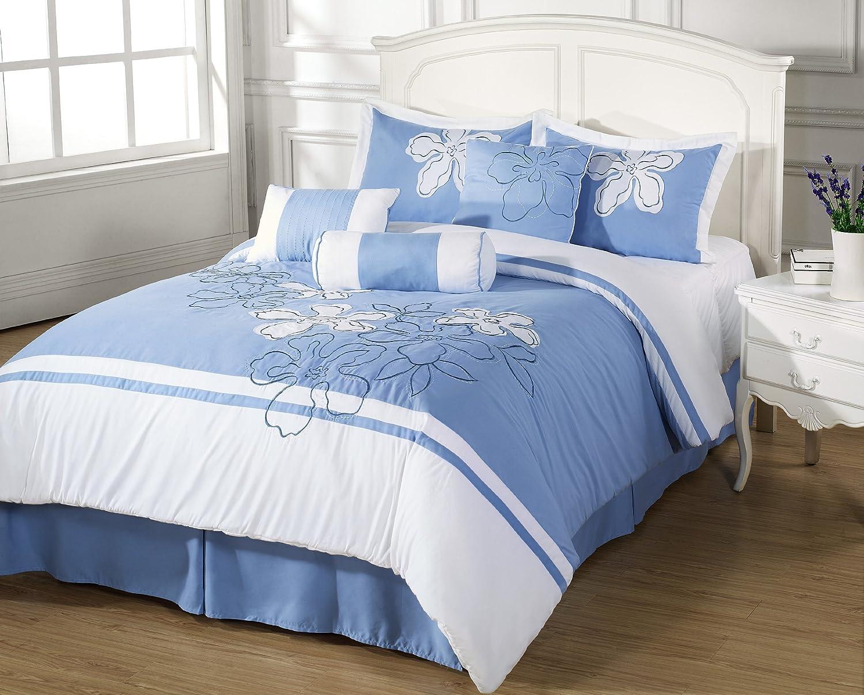 title | Light Blue Bedroom Set