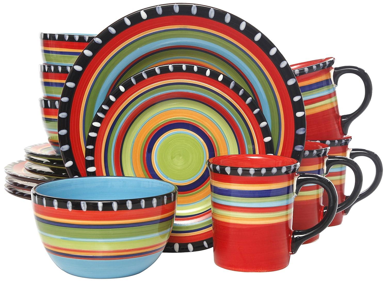 Gibson Pueblo Springs Dinnerware
