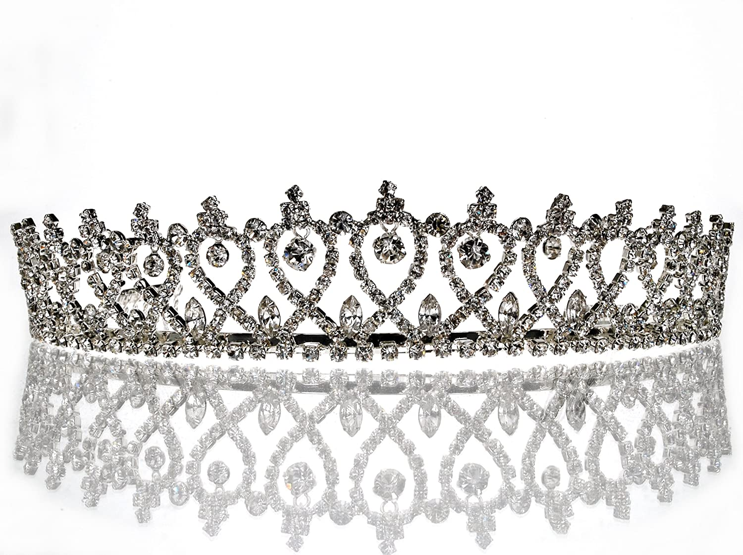 SC princess tiara for Bridal Wedding Prom Pageant