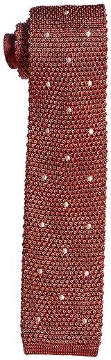 J. Press Silk Dot Knit Tie TROVGM0311: Red