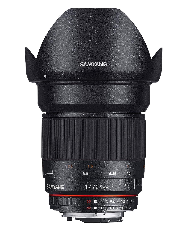 Grandangolo fisso Samyang 24mm f/1.4 ED AS UMC