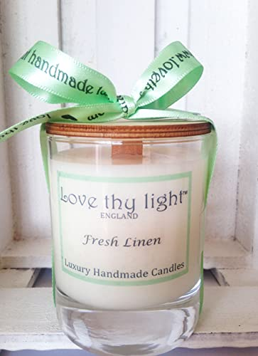 Linen scented candles!