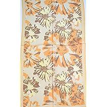 Creative Silk Scarf - Silk Georgette Scarf - Autumn II
